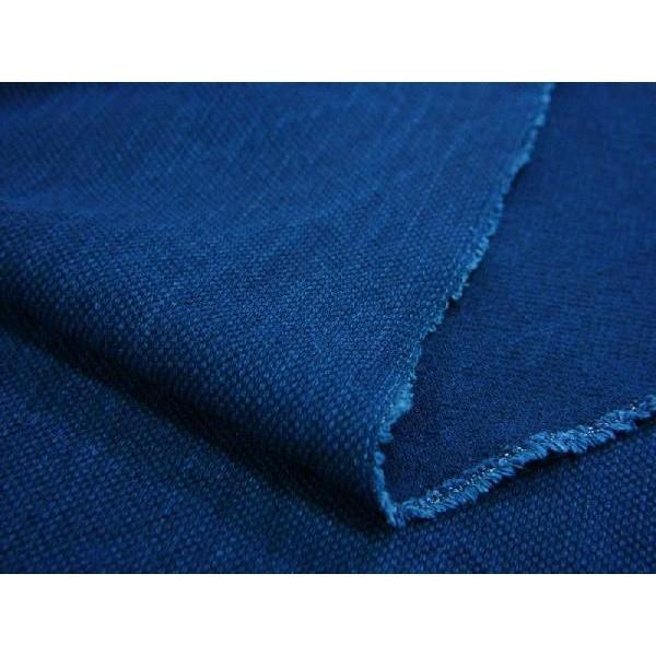 藍染 20/2 刺子柄(SF22102039)|aiira-ensyu|05