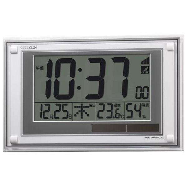 シチズン ソーラー電源電波時計(掛置兼用) 8RZ189-003(出産内祝い お返し 結婚 入学祝 ギフト 引き出物 贈答品)
