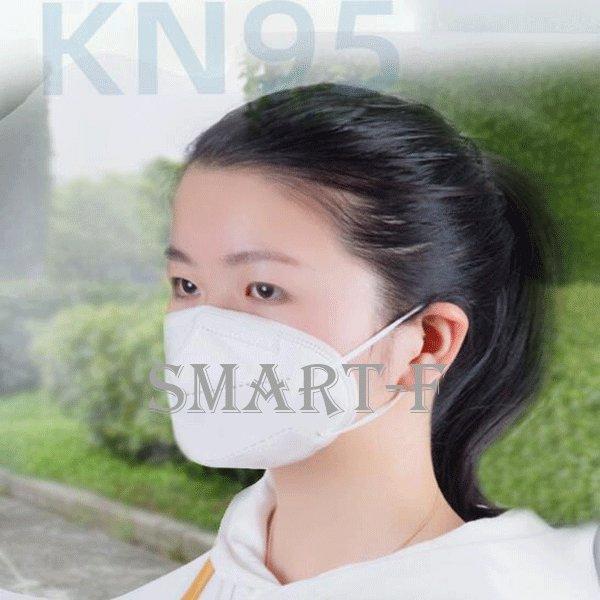 KN95マスク (N95同規格)5枚*2 3D 5層構造 不織布マスク【ウイルス/コロナ/対策】高性能マスク 男女兼用 成人サイズ 漏れない 三回|aimeeshop|04