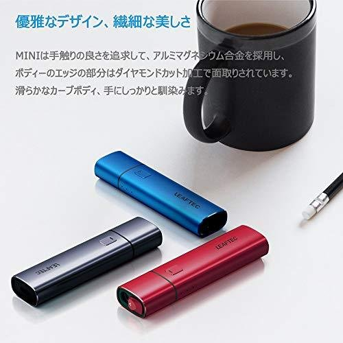 LEAFTEC MINI 加熱式たばこ 電子たばこ 互換機 Type C接続口採用 28分間高速フル充電 連続使用可能 5分間吸引可能 自動温度調整|aina0921|06