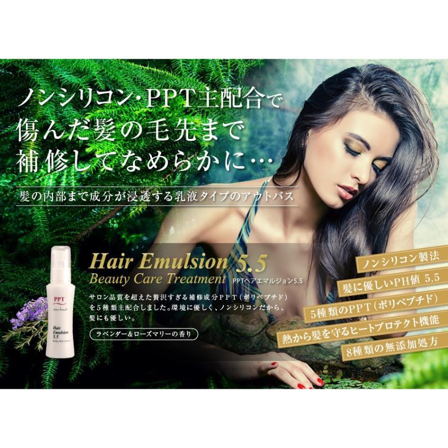 送料無料 3本セット 洗い流さない美容乳液 アイナボーテPPTヘアエマルジョン5.5 (ノンシリコン ヘマチン ペリセア リピジュア配合)|ainastyle|19