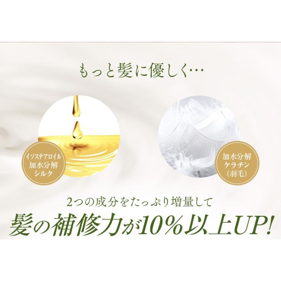 送料無料 3本セット 洗い流さない美容乳液 アイナボーテPPTヘアエマルジョン5.5 (ノンシリコン ヘマチン ペリセア リピジュア配合)|ainastyle|05