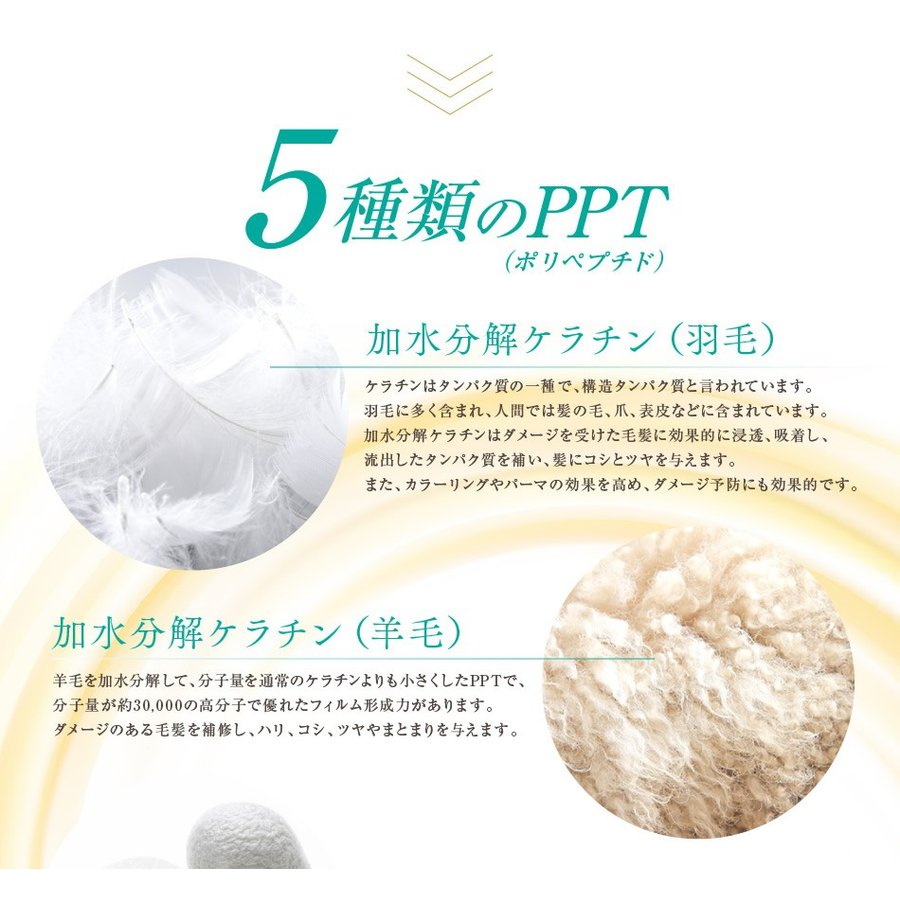 送料無料 3本セット 洗い流さない美容乳液 アイナボーテPPTヘアエマルジョン5.5 (ノンシリコン ヘマチン ペリセア リピジュア配合)|ainastyle|10