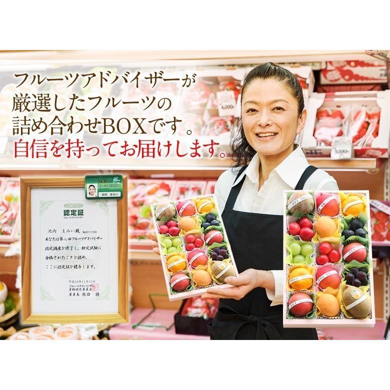 フルーツ くだもの 果物【送料無料】【プチ重箱プレミアム】 FPJ-9(プチフルーツ15個・宮崎産 完熟マンゴー2L〜3L・2個)|aino-kajitu|06
