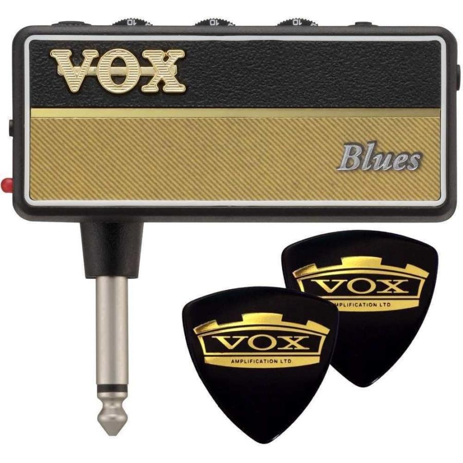 VOX 国内正規品 AP2-BL 限定VOXピック2枚付 amPlug2 Blues ギフト