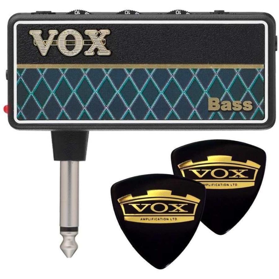 VOX AP2-BS+VOXピック2枚 Bass 激安 amPlug2 商い