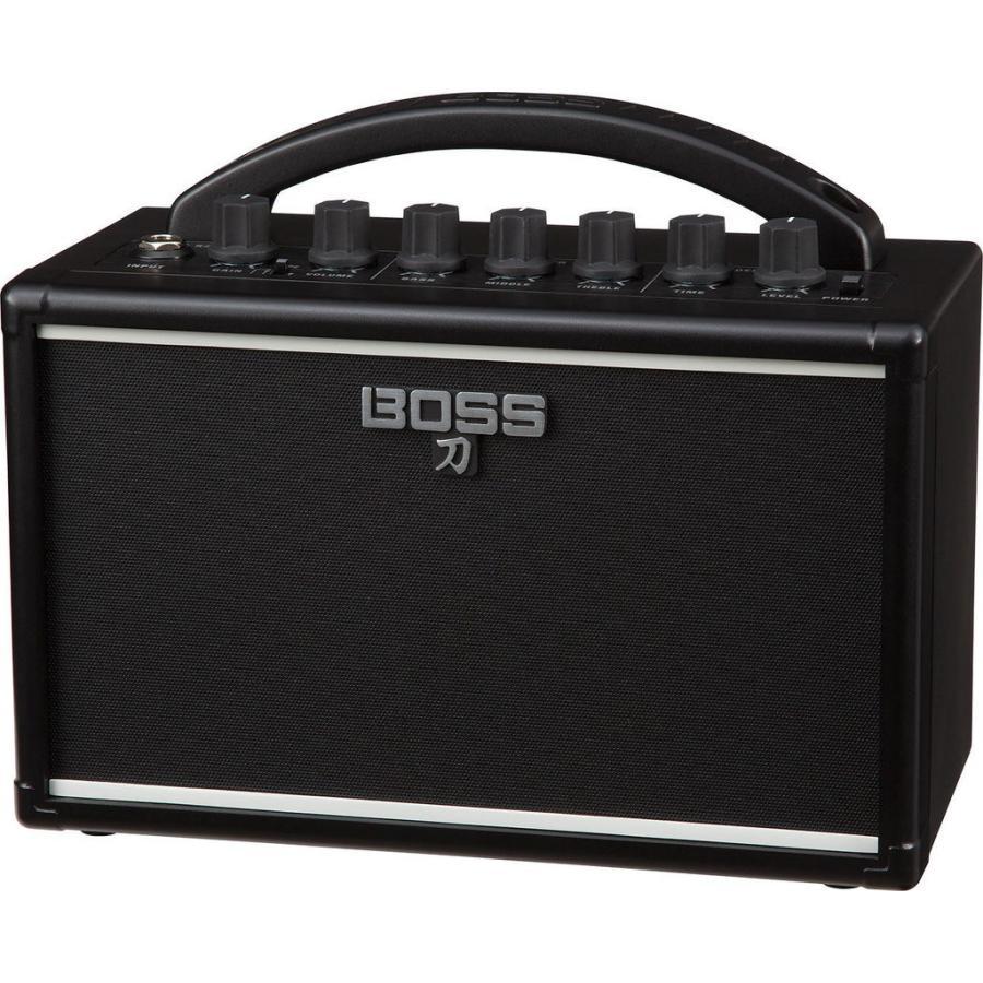 BOSS KTN-MINI 国内在庫 2020A W新作送料無料 KATANA-MINI 刀 アンプ バッテリー駆動のポータブル
