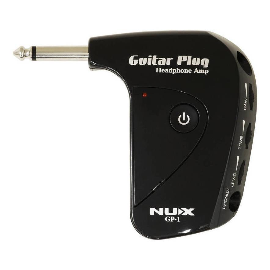 NUX GP-1 ディストーション搭載のポータブルヘッドフォンアンプ 正規認証品 新規格 モデル着用&注目アイテム