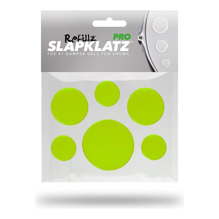 SlapKlatz PRO Refillz GREEN 直営店 計12個セット ケース無し タム シンバルのミュートに最適 メール便発送 商舗 スネア 代金引換不可