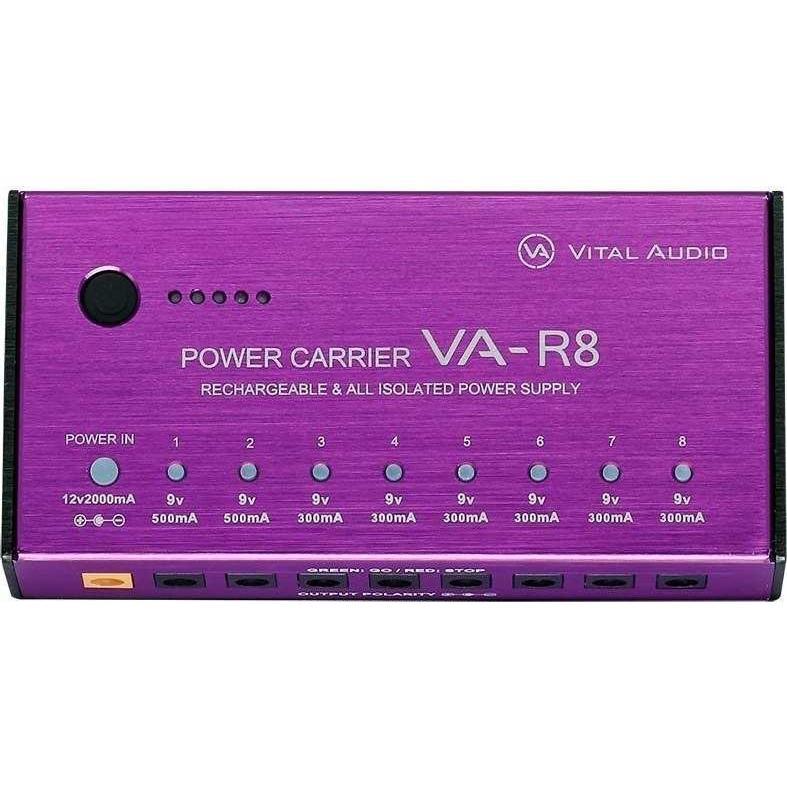 VITAL AUDIO VA-R8 POWER リチャージャブル オールアイソレート ランキング総合1位 買い物 パワーサプライ CARRIER