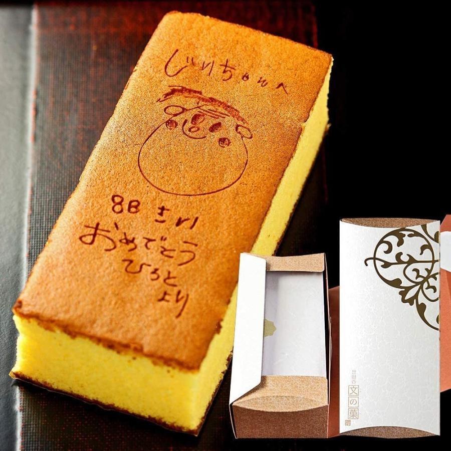 【短納期】オリジナル手描きカステラ(0.6号サイズ/化粧箱入り)