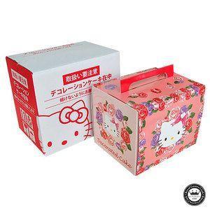 ハローキティ 立体ケーキ 約8〜10人分 3Dデコレーション Hello Kittyのキャラクターケーキ 子供 かわいい スイーツ aionline-japan 03