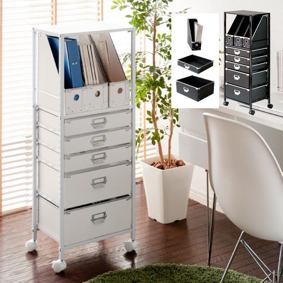 日本正規品 ラック チェスト 収納 ファイルラック キャスター付き 書類収納 収納ボックス デスクサイド 整理棚 買い取り ファイルワゴン 書類ラック