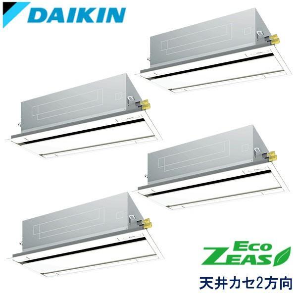 業務用エアコン ダイキン SZZG280CJNW 天井埋込カセット形 エコ・ダブルフロー 10馬力 三相200V ワイヤレスリモコン 標準パネル