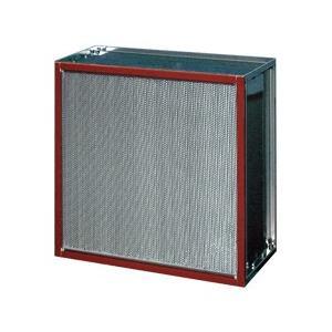 ATMCE-50-P-ETS4 610×610×290mm 日本無機(株) 耐熱180℃HEPAフィルター(多風量型)(捕集効率:99.97%) SUS枠