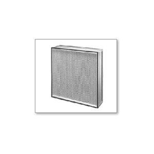 S-PO-270-A(旧 SPO-270-A) 610×610×150mm (株)忍足研究所 HEPAフィルター(多風量型)(捕集効率:99.97%) アルミ枠