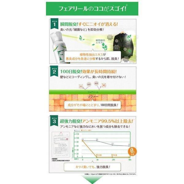 光触媒 試験済み ウイルス対策 感染予防 抗菌 抗ウイルス 除菌スプレー フェアリール 150ml 新型コロナ 消臭 コーティングスプレー 送料無料 PB|airleaf|07