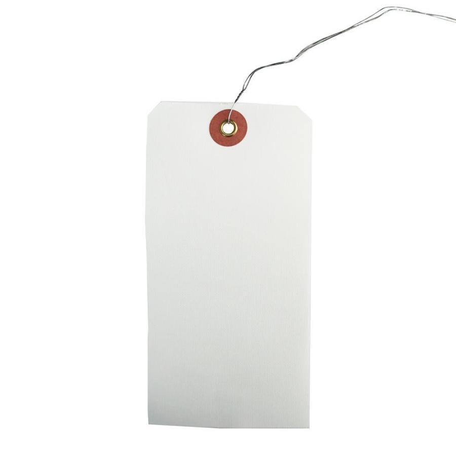 ササガワ タカ印 25-170 荷札 布札白 防水加工仕上 (H120×W60mm) 1000枚 同梱不可