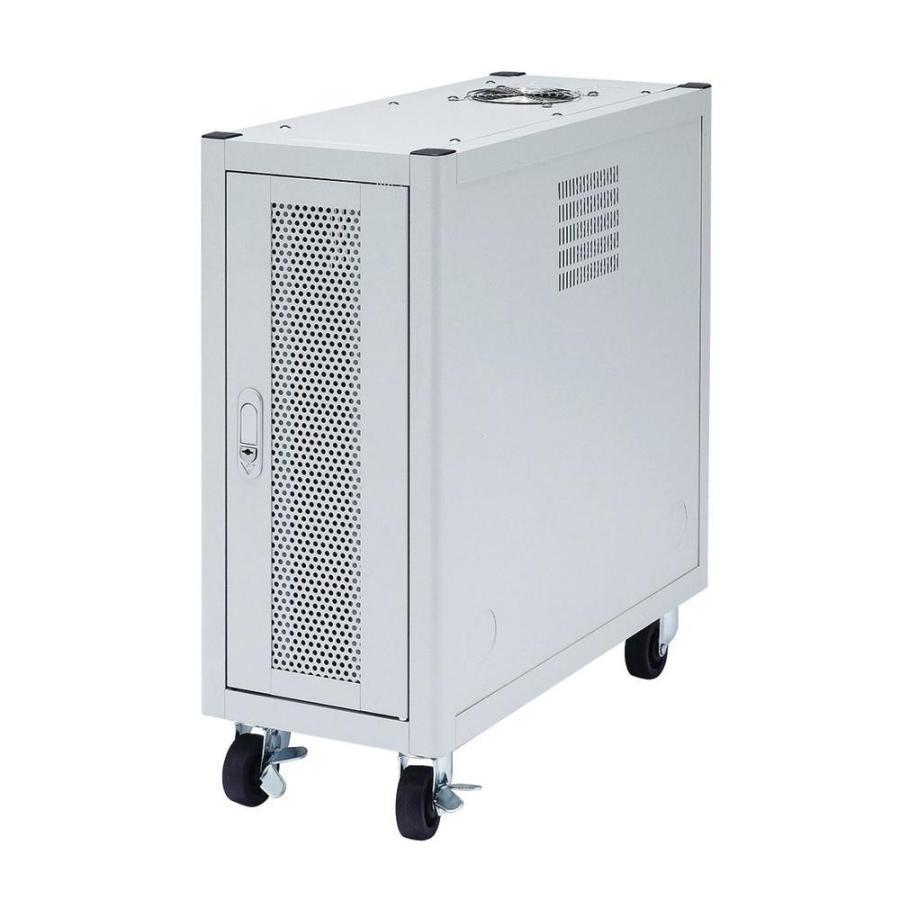 サンワサプライ 縦収納19インチマウントハブボックス(2U) CP-TH2UN代引き・同梱不可キャスター メッシュパネル ルーター ルーター