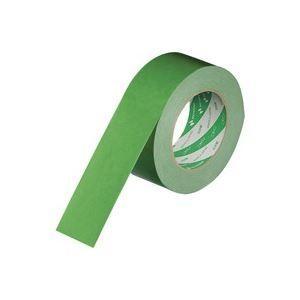 (業務用100セット) ニチバン ハイクラフトテープ 320WC-50 50mm×50m 緑