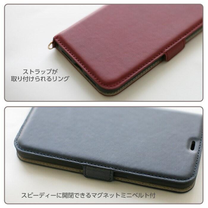 セール iPhone XR ケース 6.1 インチ 手帳型ケース アイフォンケース 本革 レザー メンズ オリジナル メール便送料無料|airs|05