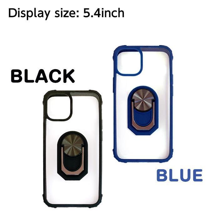 iPhone12mini iPhone12 iPhone12Pro iPhone12ProMax 5.4 6.1 6.7インチ 耐衝撃スリムバックカバーリング付き背面ケース【メール便送料無料】|airs|04