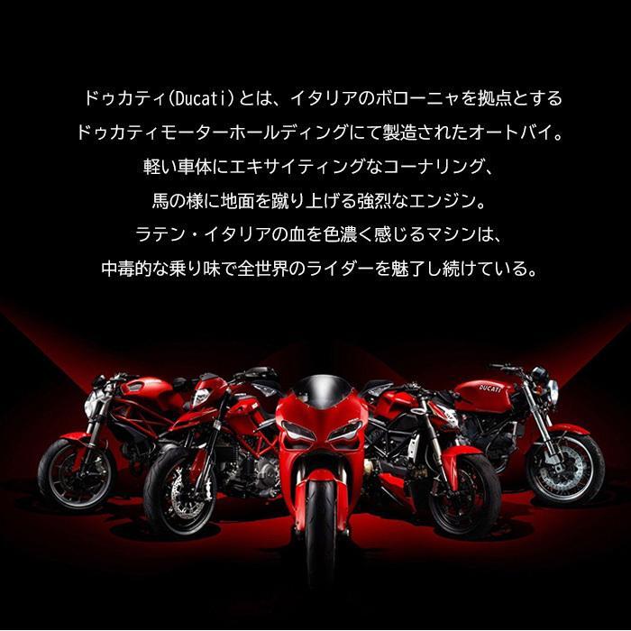 Ducati 公式ライセンス品 iPhone12ProMax シリコン ハードケース ブラック レッド ドゥカティ 背面ケース バックカバー【送料無料】|airs|04