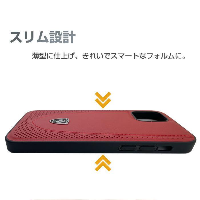 Ferrari フェラーリ 公式ライセンス品 iPhone12mini iPhone12 iPhone12Pro iPhone12ProMax 本革 背面ケース バックカバー リアルレザー airs 02