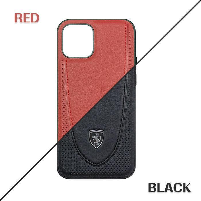 Ferrari フェラーリ 公式ライセンス品 iPhone12mini iPhone12 iPhone12Pro iPhone12ProMax 本革 背面ケース バックカバー リアルレザー airs 04