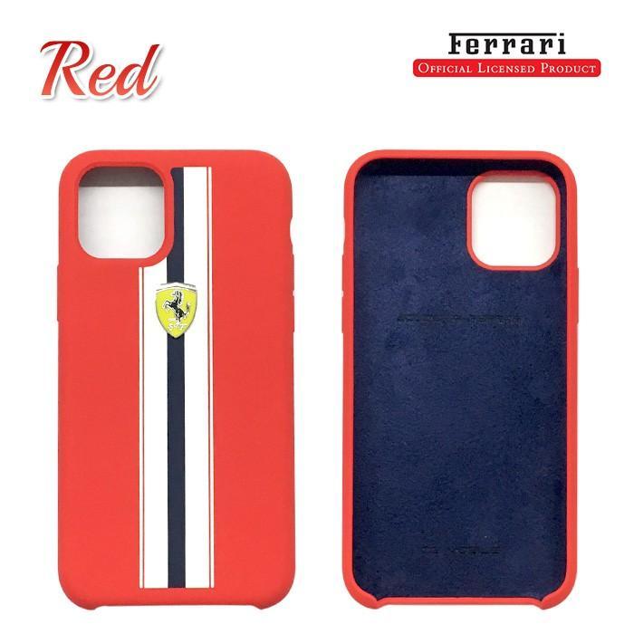 Ferrari フェラーリ 公式ライセンス品 iPhone11Pro iPhone11 iPhone11ProMax シリコン 背面ケース バックカバー ブランド|airs|03