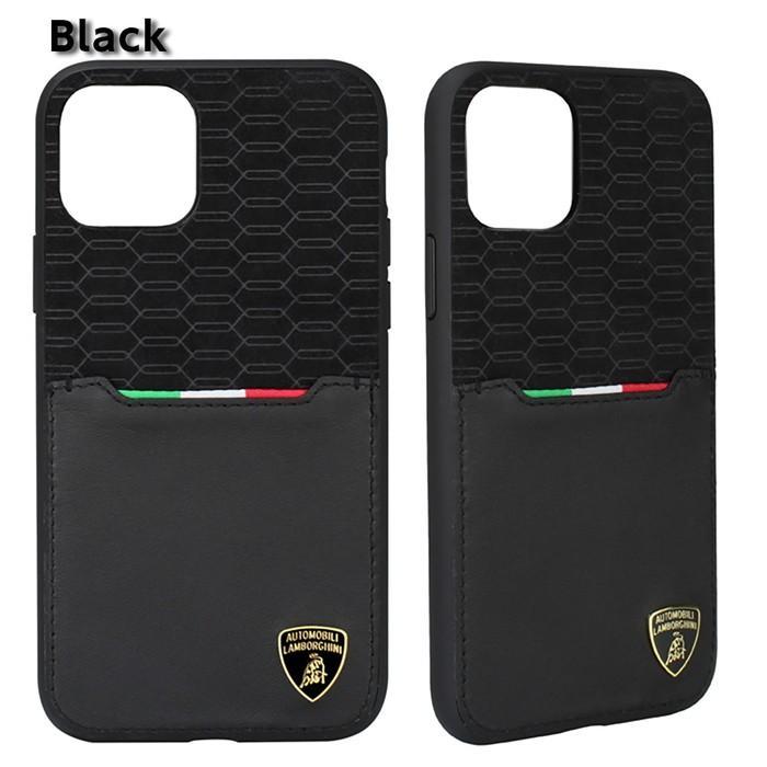 Lamborghini ランボルギーニ 公式ライセンス品 iPhone11Pro iPhone11 iPhone11ProMax アルカンターラ 本革 背面ケース バックカバー レザー ブランド|airs|04