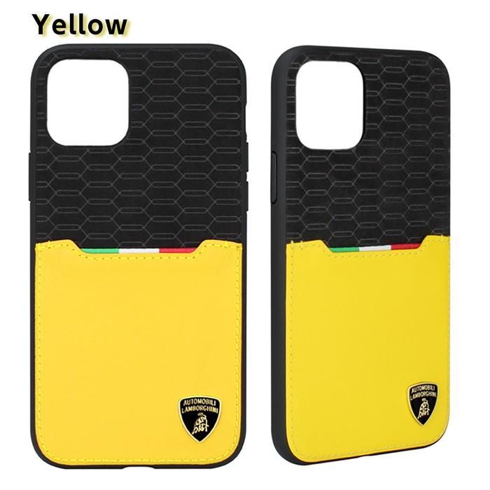 Lamborghini ランボルギーニ 公式ライセンス品 iPhone11Pro iPhone11 iPhone11ProMax アルカンターラ 本革 背面ケース バックカバー レザー ブランド|airs|07