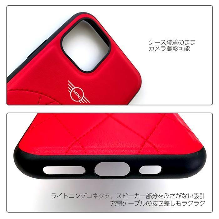MINIミニ  公式ライセンス品 iPhone11Pro iPhone11 PUレザー 背面ケース バックケース ブランド airs 04
