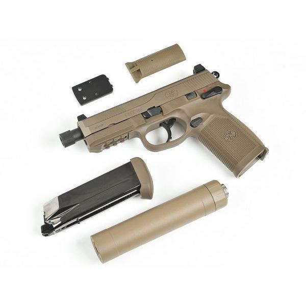 FNX-45 Tactical ガスガン DXversionSP1 (DE)  CyberGun製|airsoftclub|02
