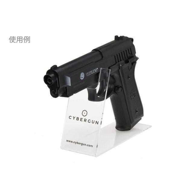 ハンドガンディスプレイスタンド/クリアー (Cybergun)  CyberGun製|airsoftclub|02