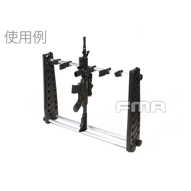 G Accessories Rack/ポータブルガンラック 30in (Adjustable version)  FMA製|airsoftclub|06