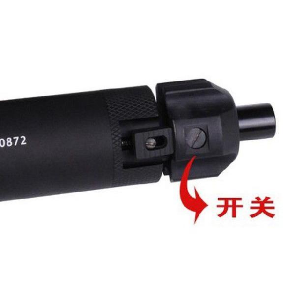フルオートトレーサー (BB弾発光装置) MP7専用 ハイダー付  FMA製|airsoftclub|05