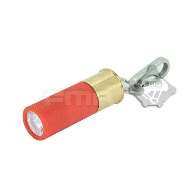 ショットシェル型 LEDフラッシュライト (CR2電池別売)  FMA製|airsoftclub