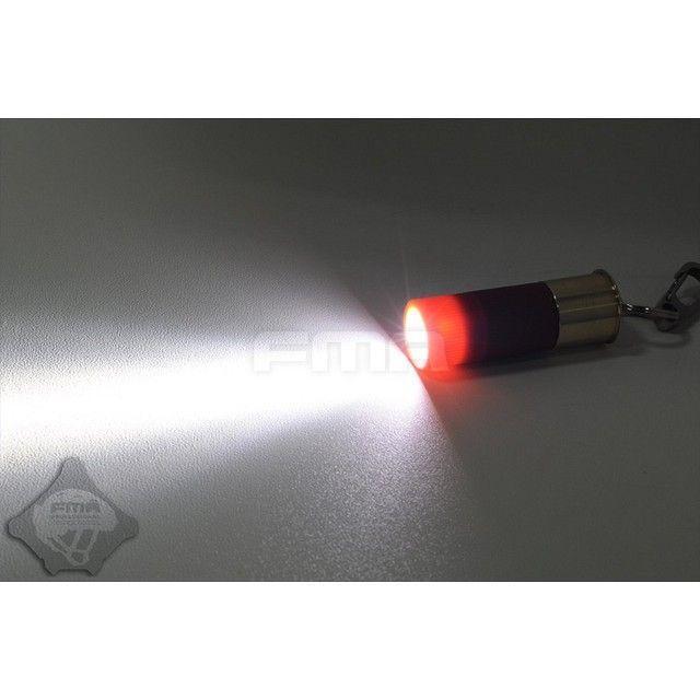 ショットシェル型 LEDフラッシュライト (CR2電池別売)  FMA製|airsoftclub|04
