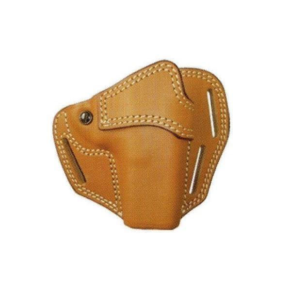 パンケーキ ホルスター No.215 (牛皮製 GLOCK用) 褐色 イーストA製 - お取り寄せ品