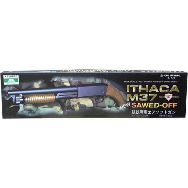Ithaca M37 SawedOff  エアコッキングガン  KTW製 - お取り寄せ品|airsoftclub|02