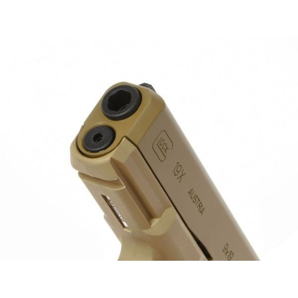 GlockAirsoft G19X ガスガン (Coyote) [2.6459-UXA]  Umarex製|airsoftclub|07