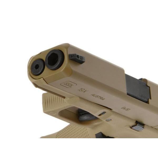 GlockAirsoft G19X ガスガン (Coyote) [2.6459-UXA]  Umarex製|airsoftclub|09