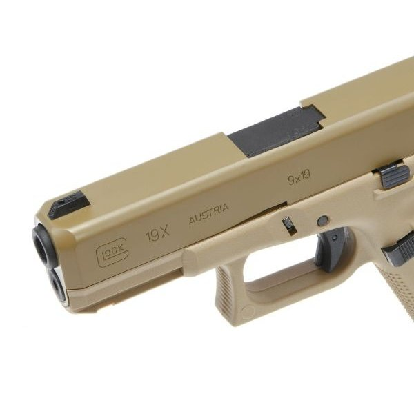 GlockAirsoft G19X ガスガン (Coyote) [2.6459-UXA]  Umarex製|airsoftclub|10