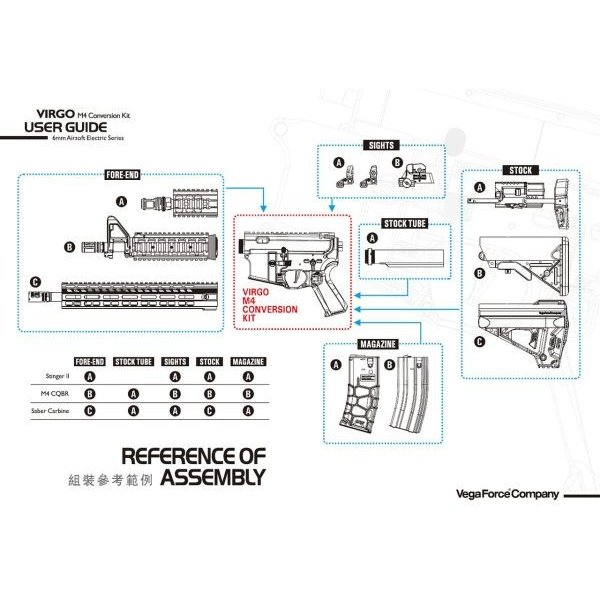 Virgo M4コンバージョンキット DigitalFiringControlSystem ハイトルクモーターversion (STD)  VFC製|airsoftclub|04