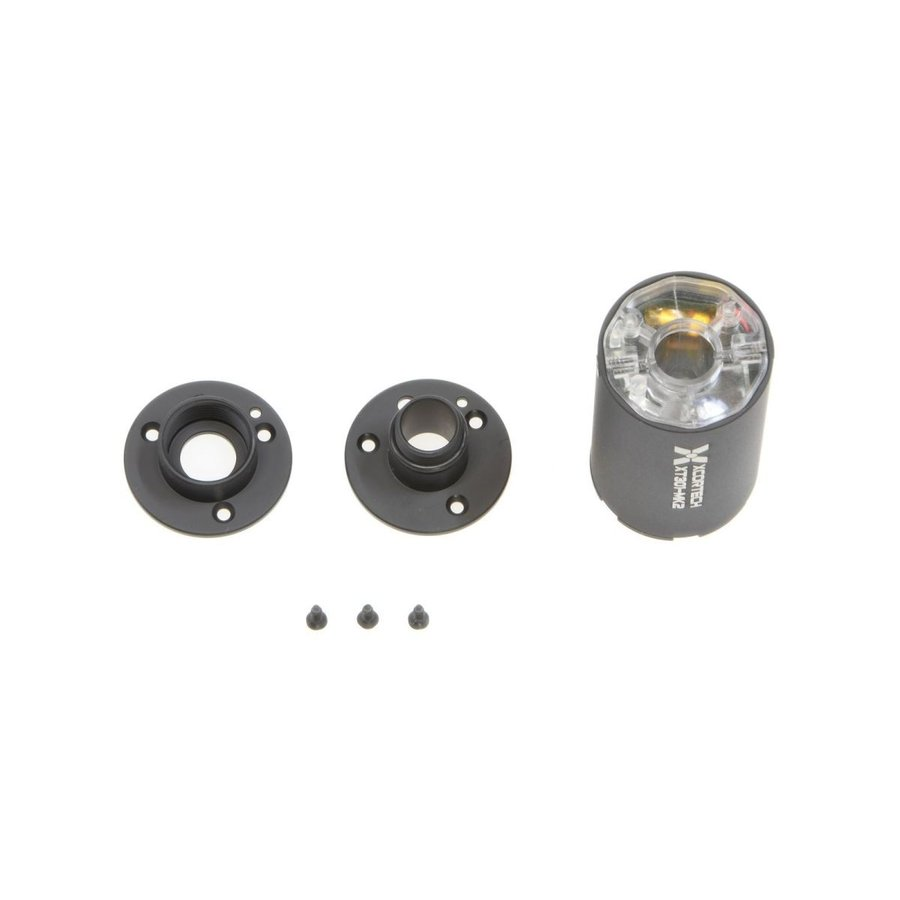 XT301Mk2 高輝度UVコンパクトトレーサー (11mm正ネジ/14mm逆ネジアタッチメント付/27*61mm)  XcorTech製 airsoftclub 04