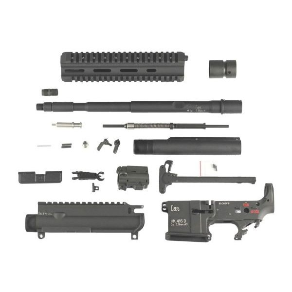 SYSTEMA M4 PTW用 HK416コンバージョンキット 14.5in アルミアウターバレル Z-PARTS製