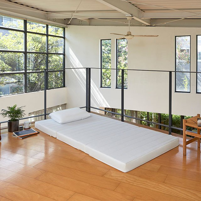 マットレス シングル  三つ折り 折りたたみ 高反発 洗える エアウィーヴ スマート Z01|airweave|15