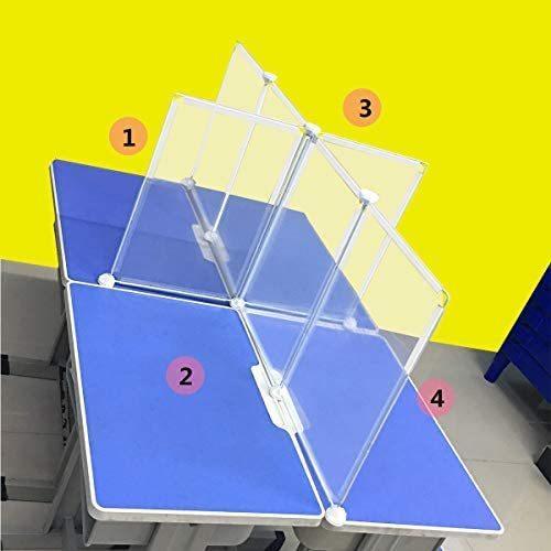 飛沫防止 コロナ対策 パーテーション 学生教室のデスクトップパーティション 樹脂パーテーション 透明 クリアパーテーション 対面式スクリーン|airymotion