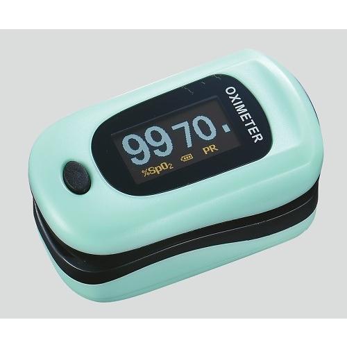 パルスフロー ミントグリーン パルスオキシメータ 医療機器 血中 酸素濃度 計|aisinhc